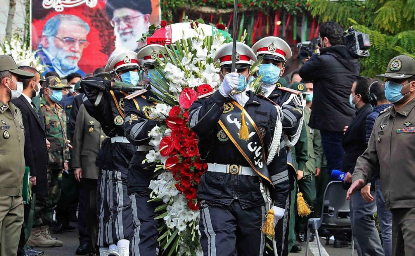 Commander of Iran's Revolutionary Guards killed by airstrike in Syria, days after top nuclear scientist killed