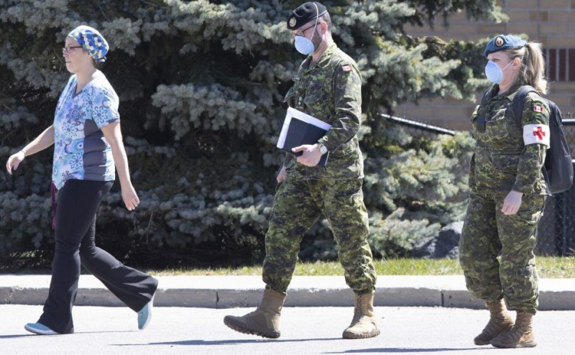 Dividends still went out even after soldiers marched in to long-term care homes in Canada